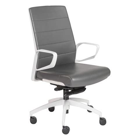 gotan white gray modern office chair eurway