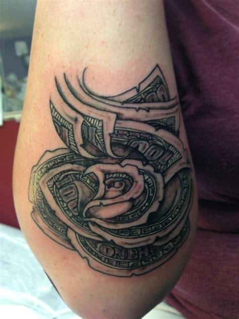 bill rose tattoo bandit ink dollar tattoo tattoos