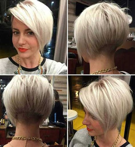 short colored hair ideas   styles short