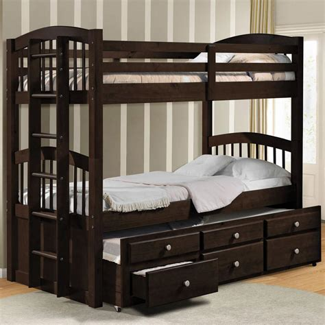 Bunk Beds With Trundle And Storage by Acme Furniture 40000a Bunk Bed W Trundle And