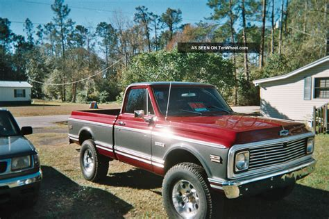 1972 Chevrolet Chyenne 4x4 350 300hp Crate Motor