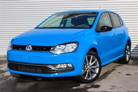 vw polo cornflower blue uni