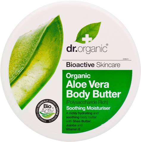 aloe vera blätter dr organic organic aloe vera butter 200 ml 200 ml ecco verde shop