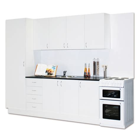 Parallel Kitchen Ideas - marquee complete modular economy kitchen pack bunnings warehouse