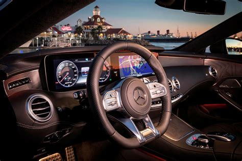 I show you around the interior and displays in the brand new mercedes s63 amg coupe. 2020 Mercedes-AMG S63 Coupe Interior Photos   CarBuzz