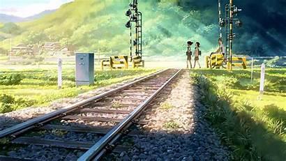 Anime Landscape Japanese Background Animated Manga Kimi
