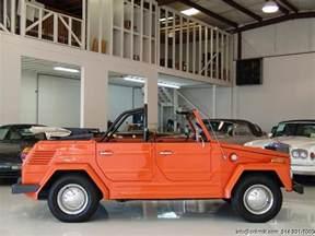 Volkswagen Thing Convertible