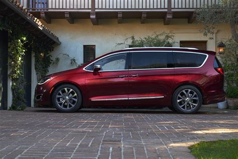 New, 2017 Chrysler Pacifica Minivan Takes Over for Town ...