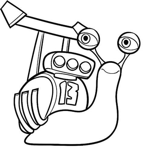 Kleurplaat Turbo Slak by Kleurplaten En Zo 187 Kleurplaten Turbo Pixar