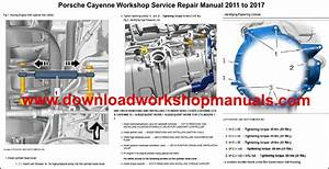 Porsche Cayenne Workshop Service Repair Manual And Parts