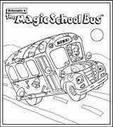 Coloring Bus Magic Popular sketch template