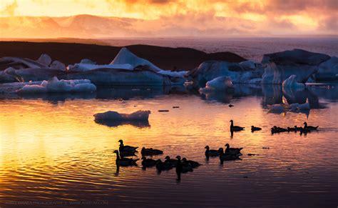 gallery jokulsarlon lake sunset iceland dystalgia aurel manea
