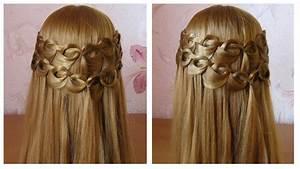 Coiffure Tresse Facile Cheveux Mi Long : tuto coiffure simple tresse cascade boucle facile et ~ Melissatoandfro.com Idées de Décoration
