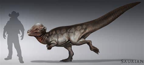 Saurian-Pachycephalosaurus by arvalis on DeviantArt