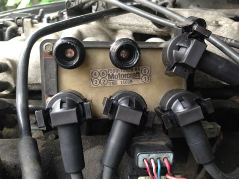 Coil Pack Question Mustang Evolution