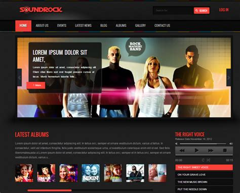 30 Best Wordpress Themes For Bands & Musicians