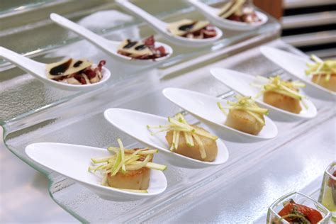 spoon canapes recipes spoons articles easy weddings