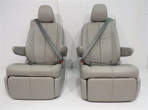 replacement toyota sienna oem recliner rear seats