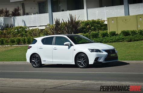 Lexus Ct 200h F Sport Review Video Performancedrive