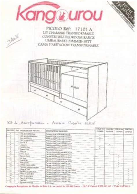 chambre sauthon kangourou lit sauthon pdf notice manuel d 39 utilisation