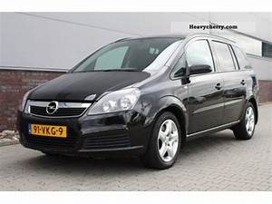 Opel Zafira 2007 : opel zafira 1 9cdti 100pk enjoy van 2007 box type delivery van photo and specs ~ Medecine-chirurgie-esthetiques.com Avis de Voitures