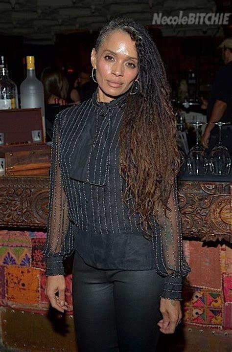Lisa Bonet Rocks Grey Hair, Side Shaved Locs   BGLH