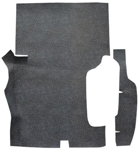 1957 pontiac bonneville burtex 2pc factory fit trunk mats