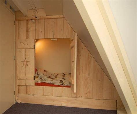 ideeen voor kinderkamer op zolder inbouwbedstee nieuw