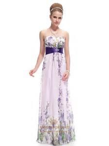 printed bridesmaid dresses lilac floral print chiffon prom dress floral print maxi dress plus size fancy bridesmaid dresses