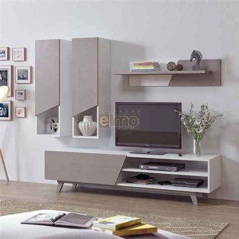 meuble d angle de cuisine meuble tv composition tv contemporain bois gris blanc line
