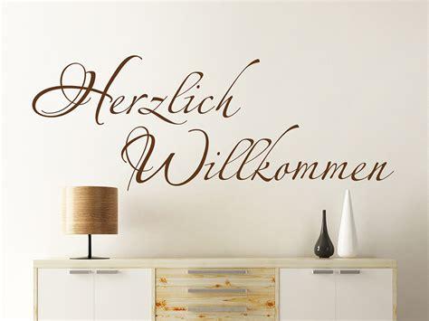 Wandtattoo Kinderzimmer Schriftzug by Wandtattoo Herzlich Willkommen Schriftzug Wandtattoo De