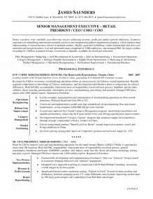 Chief Merchandising Officer Resume