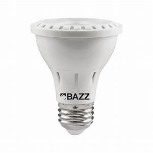 Bazz w equivalent soft white par led flood light bulb