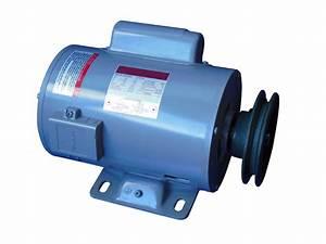 Motor El U00e9ctrico 110  220v Ac 5hp Para Compresor De Aire