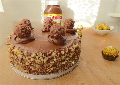 cuisine recette dessert ferrero rocher cake la cuisine de micheline