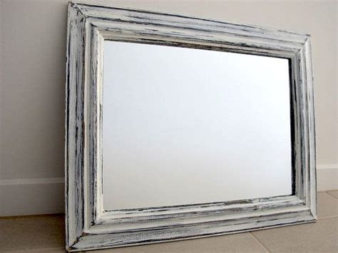 white distressed mirror rustic mirror blue white distressed wooden mirror 1024