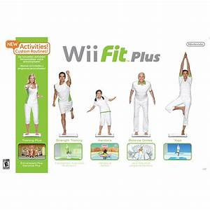 Nintendo Wii Fit Plus With Balance Board Tvs