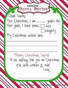 official letter for santa christmas pinterest With santas official letters