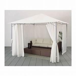 Outdoor Vorhänge Ikea : karls pavillon mit gardinen 300x300 cm ikea gartentr ume pavillon balkon und gardinen ~ Yasmunasinghe.com Haus und Dekorationen