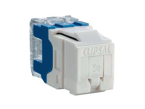 clipsal rj45sma5sh modular socket category 5 rj45