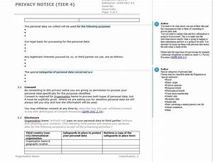 Terms Of Use And Privacy Policy Template How To Write A GDPR Privacy Notice With Documentation Template Example IT Governance Blog