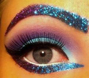 glitter eye makeup | Tumblr | A walking beauty | Pinterest ...