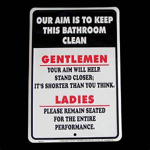 bathroom signs to keep clean ideas pinterest With keep clean bathroom signs