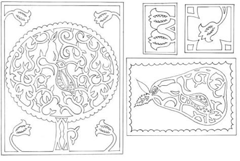 Paper Cutting Templates For by Modern Papercutting Template Free Card