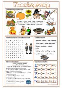 thanksgiving vocabulary exercises worksheet free esl printable worksheets made by teachers
