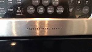 Frigidaire Professional Series Convection Oven Range