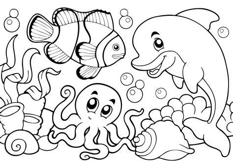 Kleurplaat Octopus by Dolfijn Kleurplaat 21 Mooiste Dolfijnen Kleurplaten Voor