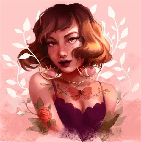 Pin By Tҽɾҽʂą🥀 On Aⓡⓣ ° Pink Art Art Drawings