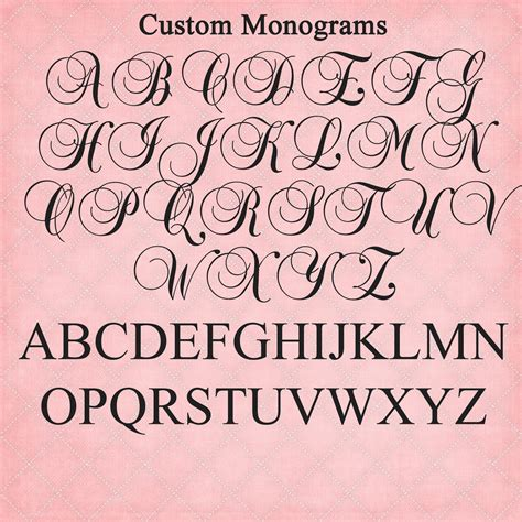 funky letter boutique beautiful custom monograms  nursery  home decor  weddings