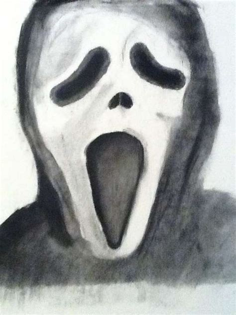hodgepodge scream drawing